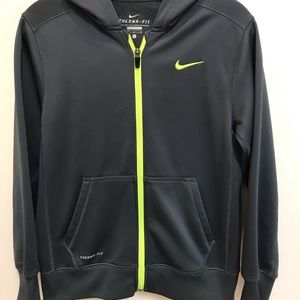 Nike Women's Therma-Fit zip up hoodie, Size L